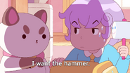 I want the hammer