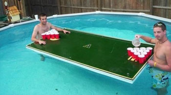 FloatingBeerPongTable