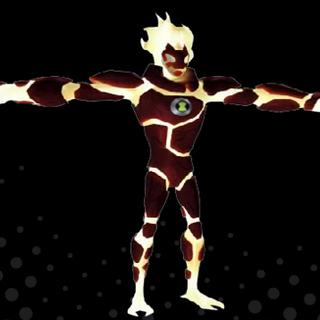 Fuego en Ben 10 Omniverse: El videojuego