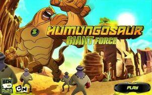 Ben 10 humungousaur giant-force