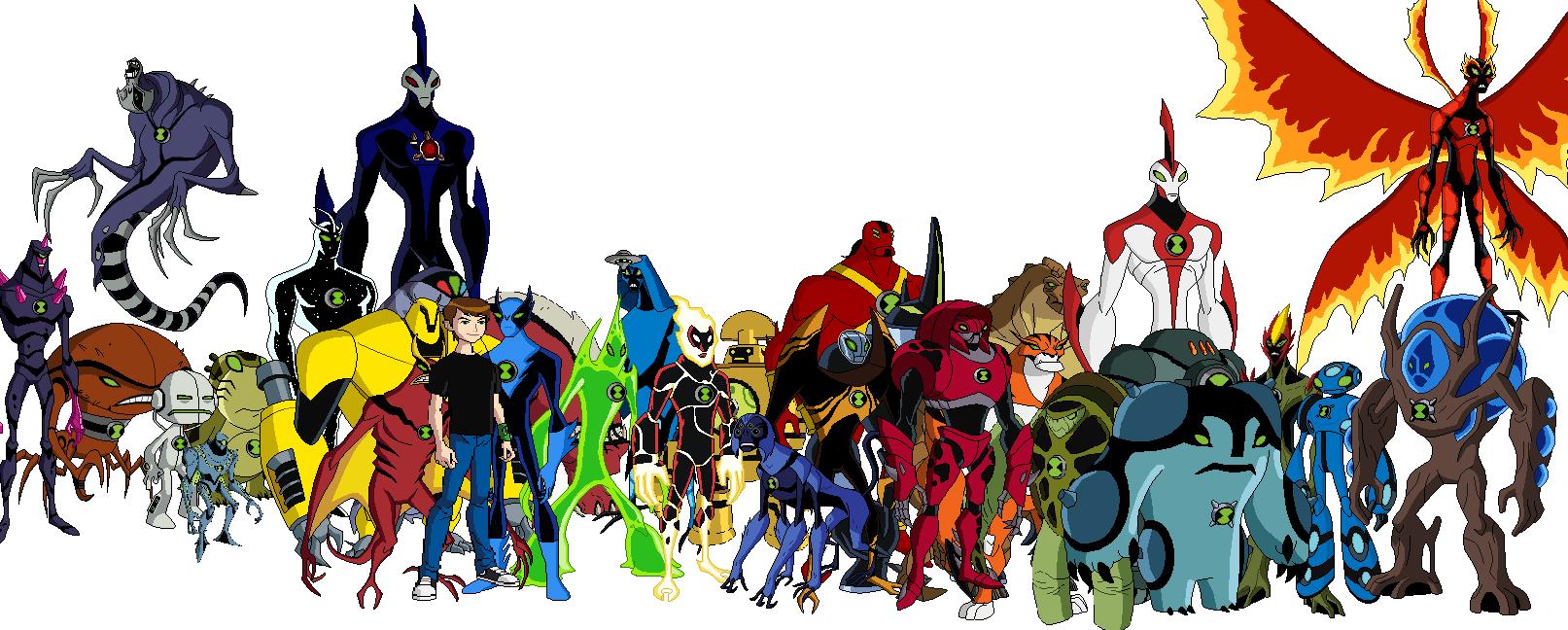 Ben 10 god ben 10 fan fiction wiki fandom powered by wikia - Ben 10 tous les aliens ...