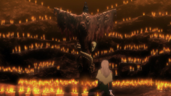 Luca sees the heretic alter