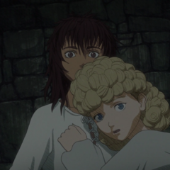 Casca and Nina imprisoned in the <a href=