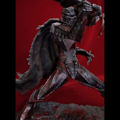 Guts in the skull helm Berserker Armor statue released by Art of War.