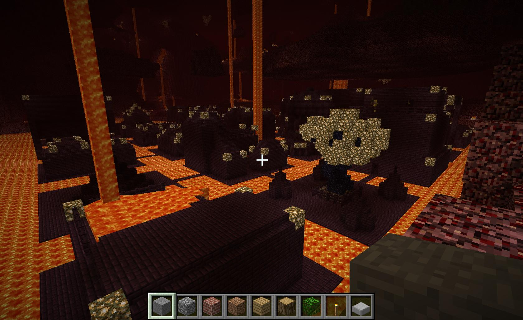 Nether City Minecraft Project