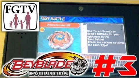 Let's Play Beyblade Evolution 3DS with the family Day 3 (Turn 7)