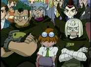 The Dark Bladers and Kenny