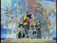 The team lets beyblade