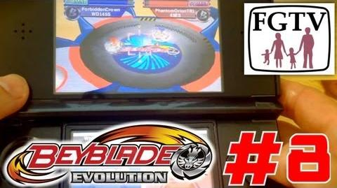 Let's Play Beyblade Evolution 3DS with the family Day 8 (Turn 50) - Championship