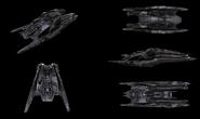 Cylon Heavy Raider No 07