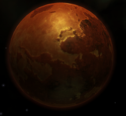 Asterian System Planet Image