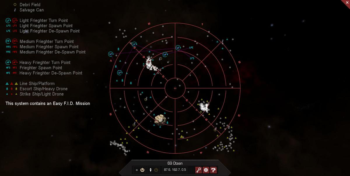 69 Otaan 3D System Map