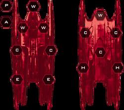Cylon Advanced Heavy Raider Systems Slots