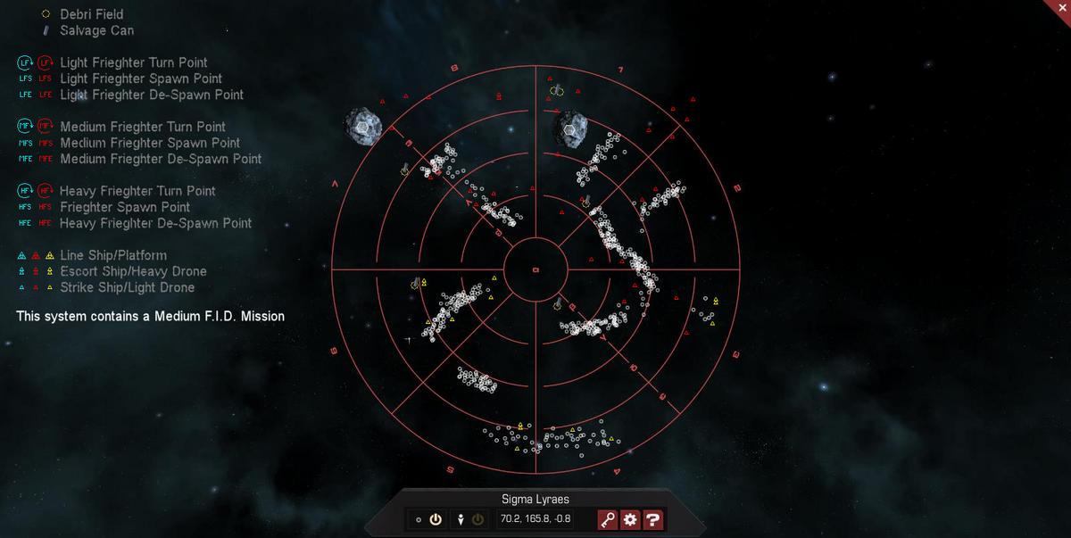 Sigma Lyraes 3D System Map