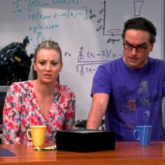 Sheldon taped them by hidden camera having ...what???