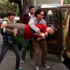Sheldon kidnapped!