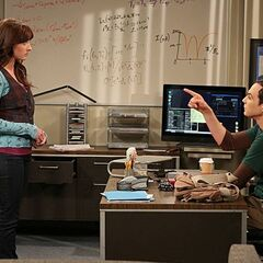 Sheldon wants Alex to go shopping for Amy.