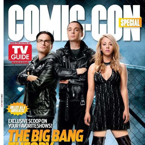 TV Guide Magazine cover for the 2012 Comic-Con of the show