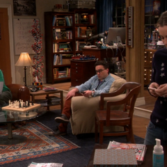 Sheldon asking Penny about her Girls' Night.