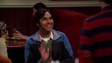 Raj's greets Emily
