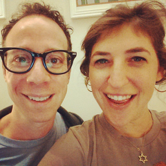 Mayim and Kevin.
