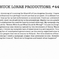 Chuck Lorre Productions, #444