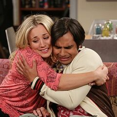 Raj finally can talk to Penny!