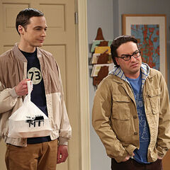 Sheldon brought take out