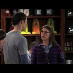 Sheldon and Amy's first meeting.