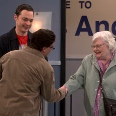 Leonard finally meets the useen Meemaw.