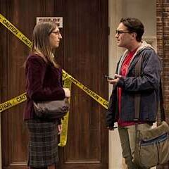 Leonard is shocked to find out Amy's pregnant with Sheldon's baby after she spreads the rumor as part of their experiment