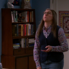 Trying to decide to call up Dave since Sheldon turned her down.
