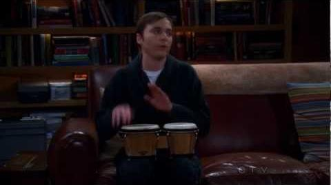 The Big Bang Theory ~ Sheldon Plays The Bongos ~ The Werewolf Transformation