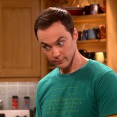 Sheldon's soulful cow eyes.