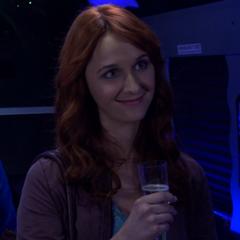 Emily appreciates Sheldon's kind words.