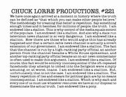 Production note 221
