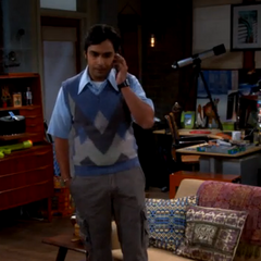 Raj learns that his parents have split up.