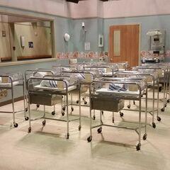 On set hospital nursery.