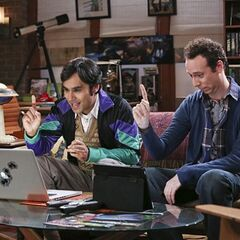 Raj and Stuart about to launch their date sites.