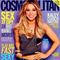 Kaley wanted to be on Cosmo when she was a little girl.