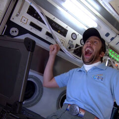 Howard on the International Space Station.