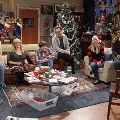 Celebrating a Sheldon-free Christmas.