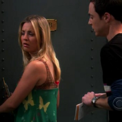 Sheldon wants Penny to curb her lust.