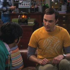 Raj and Sheldon.