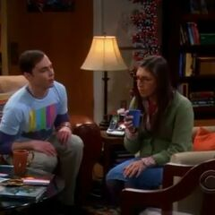 Sheldon begs Amy to let him join the online gaming marathon.