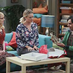Emily send Raj a sextant.