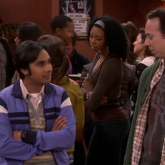 Stuart paid to insult Raj.