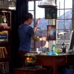 Sheldon tosses white board to get a fresh start