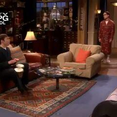 Sheldon's bongo solo.