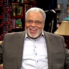 James Earl Jones from the preview commercial.
